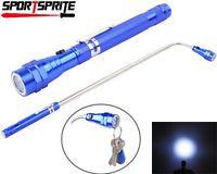 3W LED Flexible Telescopic Magnetic Flashlight Portable Pick Up Tool Light Lamp