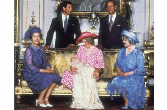 Famille royale d'Angleterre. Naissance du Prince William