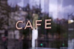 """""""Café parisien"""" Paris 2014 - Bruno Sussi ©"""