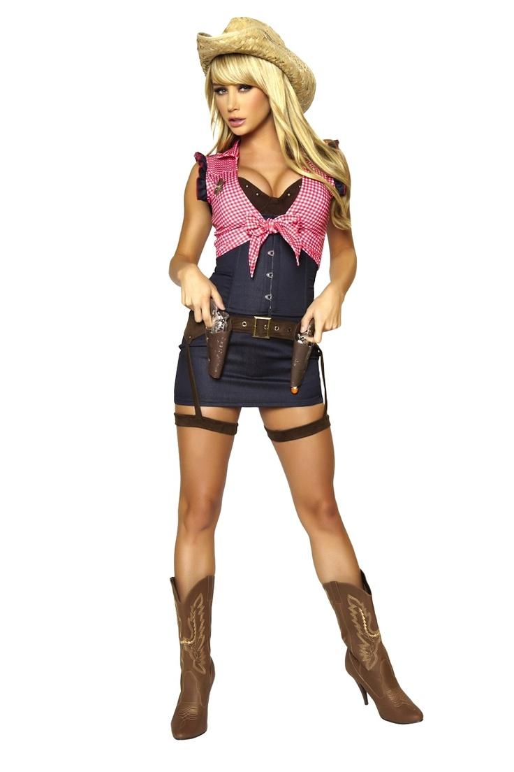 Sexy Cowgirl Halloween Costume