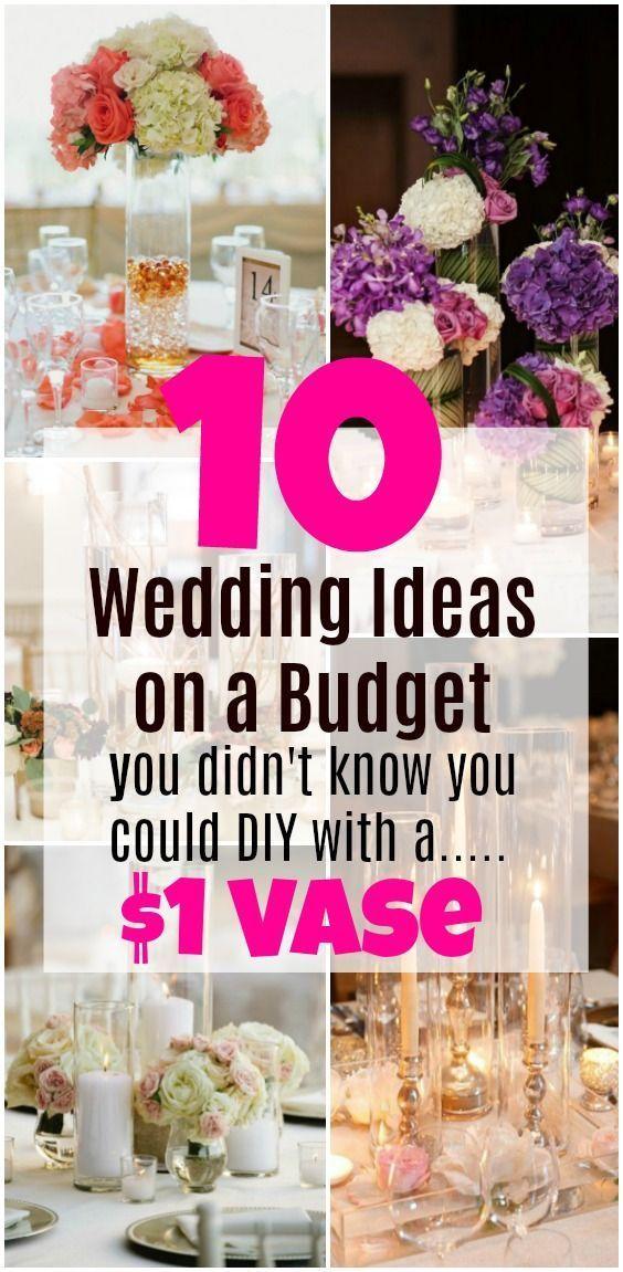 10 Hochzeitsideen mit einem Budget, von dem Sie ni…
