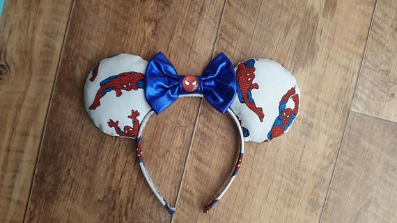 Hey, I found this really awesome Etsy listing at https://www.etsy.com/uk/listing/542006581/spiderman-ears