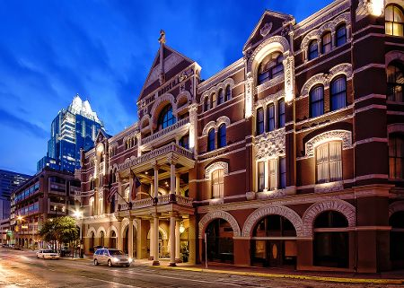 Driskill Hotel, Texas: Room 525 is said to be the most haunted room. It is believed that two young women who were in the hotel for their honeymoon committed suicide in the room twenty years apart from each other. For a period of time, the room was closed. The room was opened again in 1998 and since then strange occurrences have been reported. These include ghostly apparitions, sensations, voices and unexplained noises.