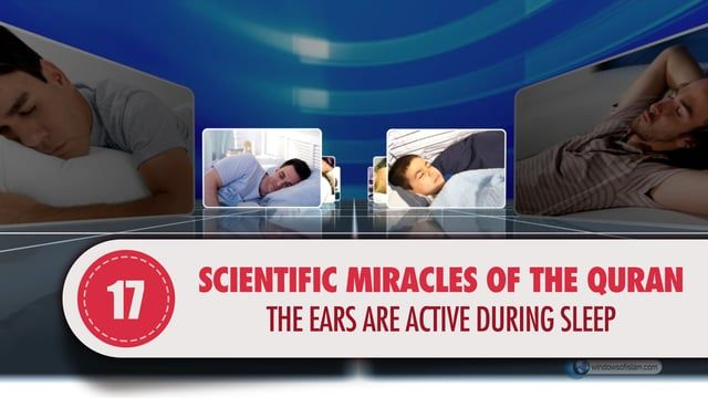 """The story of the people of the cave in the Qur'an refers to many scientific miracles. In this proof, we want to discuss one of these scientific miracles.  The following is stated in the 11th verse of the surah of al-Kahf:  """"Then We struck upon their ears (causing them, to go in deep sleep) for a (great) number of years in the cave. (Surah al Kahf: 11)"""