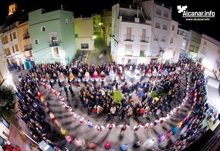 Us deixem una foto de Sant Antoni a Alcanar