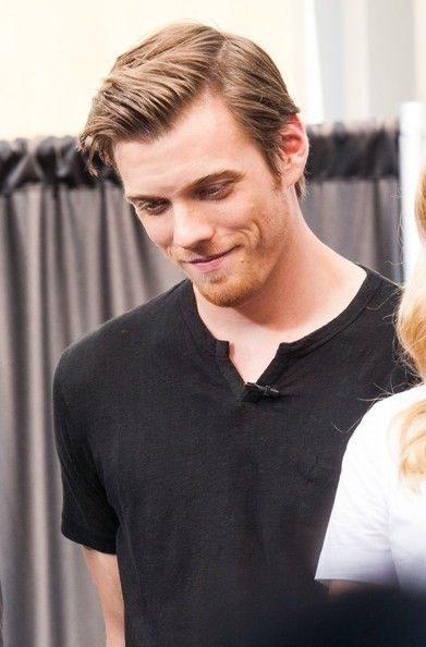 Jake Abel. I loved him before The Host. He was Adam in Supernatural. :)