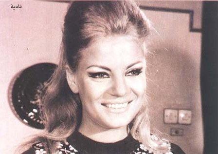 Egyptian actress... Nadia Lotfy