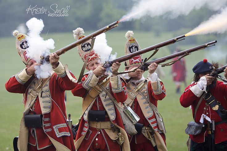French and Indian War re-enactment by Kristin Small