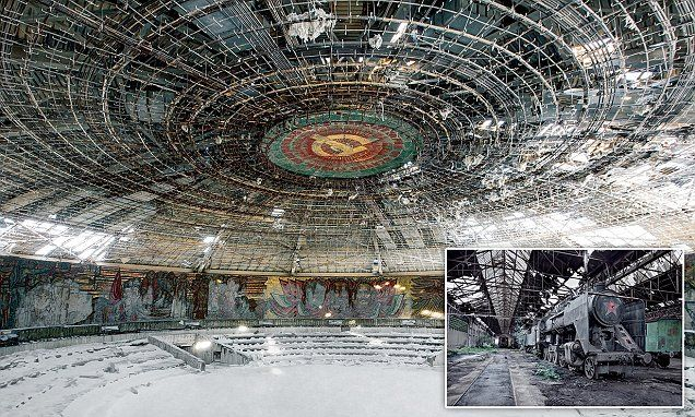The haunting images of the decaying empire that was he Soviet Union #DailyMail
