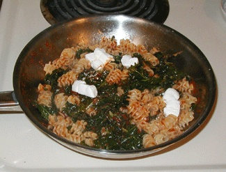 Kale and Pasta in Creamy Tomato Sauce | Favorite Recipes | Pinterest