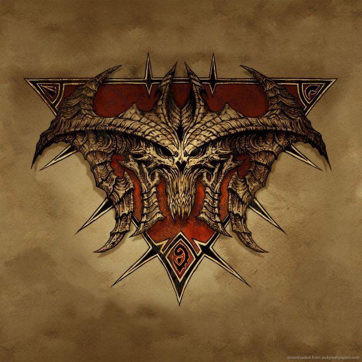 Download Diablo 3 Banner Wallpaper For iPad