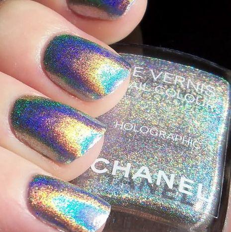 Chanel Holographic Nail Varnish