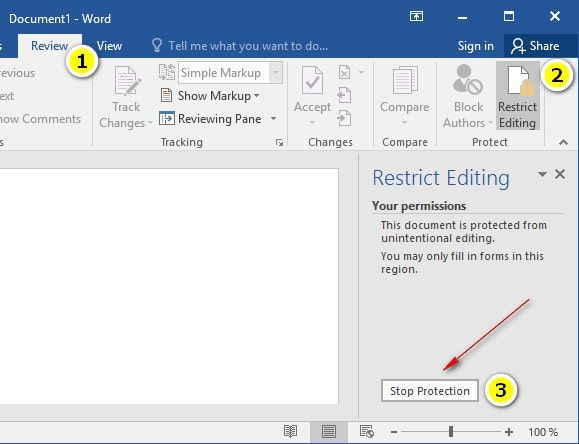 Unlock Word Document For Editing Microsoft Word Document Words Word 2007