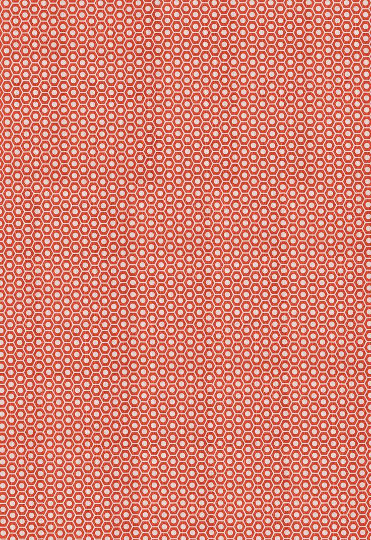 Fabric | Queen B in Fire | Schumacher