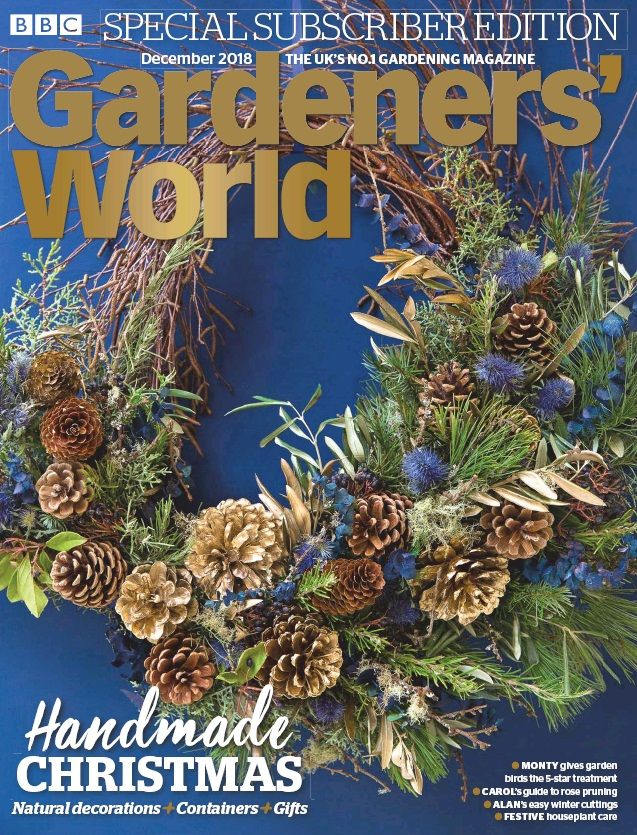 Gardeners World 16 November 2018 Available Online At South