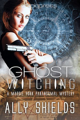 Seeing ghosts should make solving homicides easy, right? Not even close. Ghost Witching by Ally Shields Maggie York Book Two Genre: Romantic Urban Fantasy Content/Theme(s): Mystery, Ghosts, Witch, Police Procedural, Thriller, Paranormal, Occult Release Date: October 21, 2016