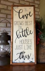 I love love love this sign! I am going to make one one day!