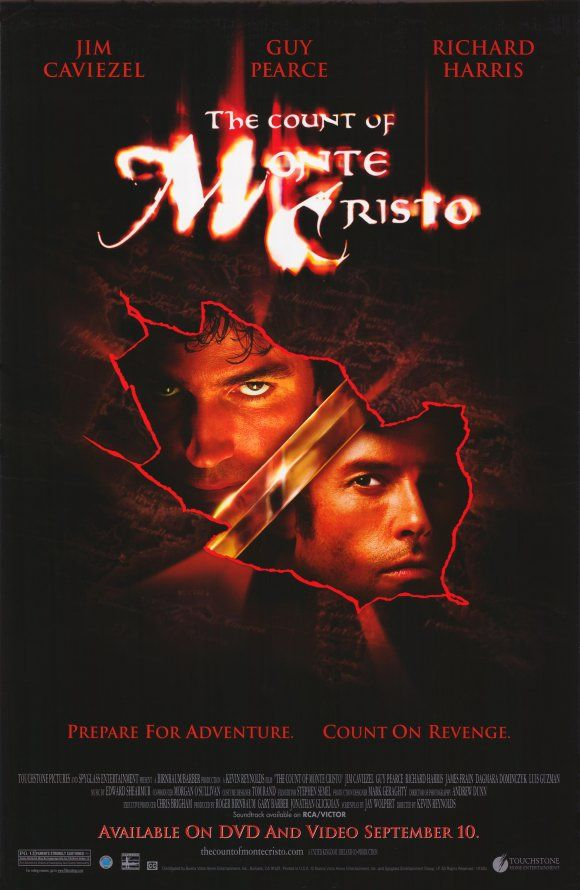 The Count Of Monte Cristo (A Film Review)