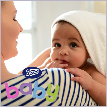 We've teamed up with Boots baby to offer the chance to win £50 Boots vouchers for two lucky babyworlders, so that you can treat your little ones.