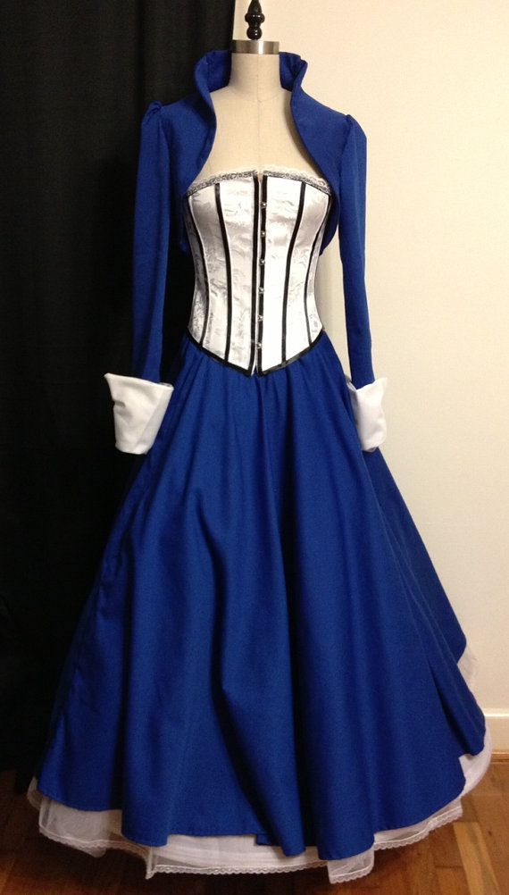 Elizabeth BioShock Infinite Dress  Pre Order by VayCraft on Etsy, $300.00 <--- LOOKS LIKE THE TARDIS!!!