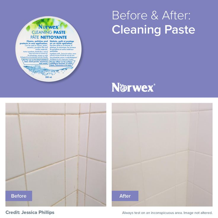 Easily and quickly remove soap scum and caked-on dirt and grime on your ceramic tile with minimal effort with our Cleaning Paste!