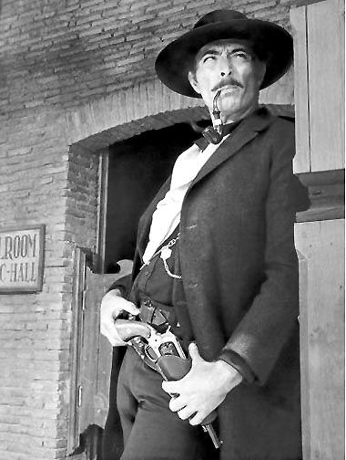 Lee Van Cleef as Angel Eyes in Sergio Leone's The Good, the Bad, and the Ugly