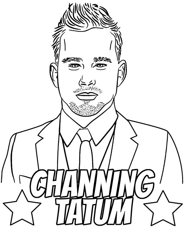 Famous actors coloring pages celebrities coloring sheets actress ...