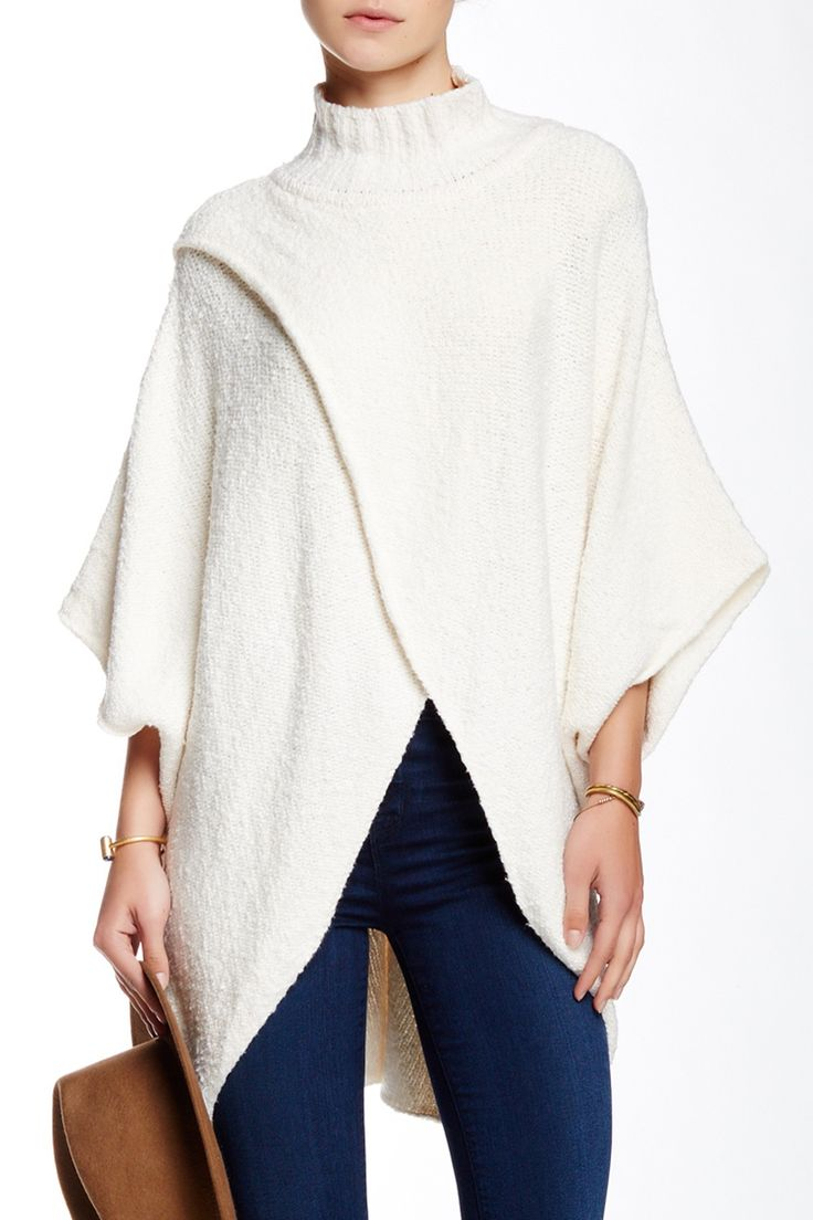All Wrapped Up Poncho by Free People on @nordstrom_rack Sponsored by Nordstrom Rack.