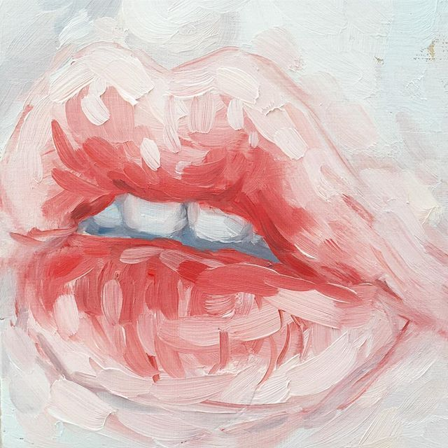 Губы в картинках красками