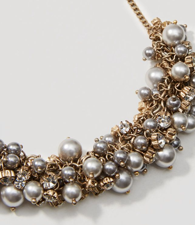 Thumbnail Image of Color Swatch 3019 Image of Pearlized Bauble Necklace