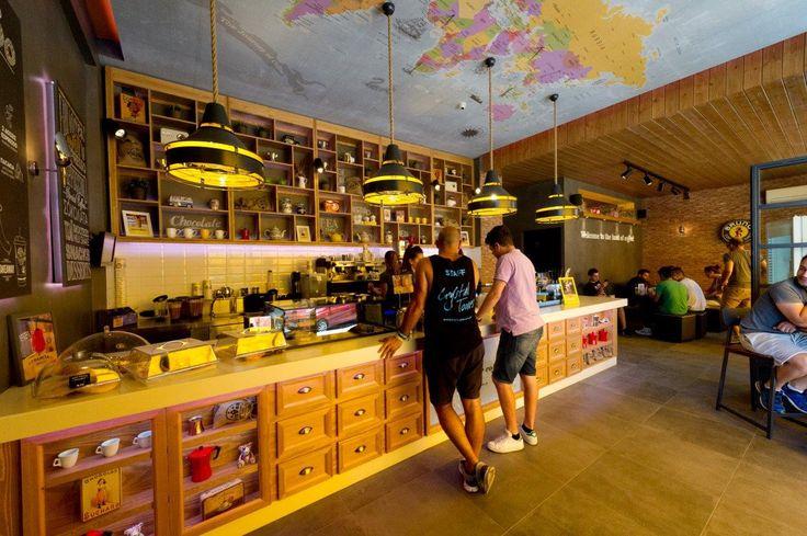 Bruno Coffee Stores | Corfu Greece, by Dimitris Koukoudis architect