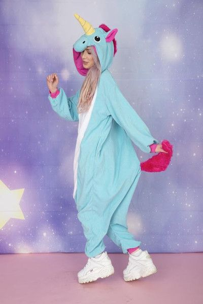 Now you can prove that unicorns really do exist with our Premium Majestic Unicorn onesie from Onesieful. Our Premium Majestic Blue Unicorn Onesieis made of the