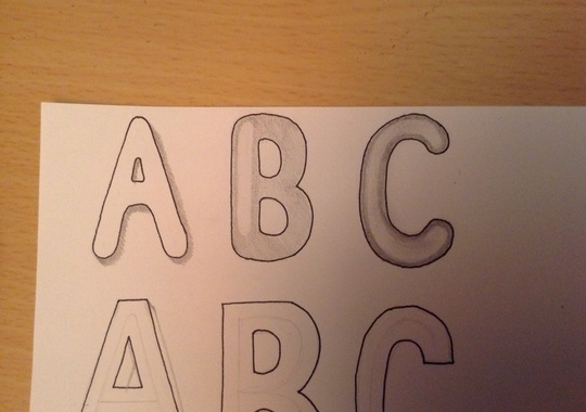 bubble letters draw drawing cool bubbles letter writing write snapguide titles