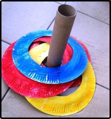 Échale imaginación y crea con los peques juguetes con cosas que encuentres por casa.