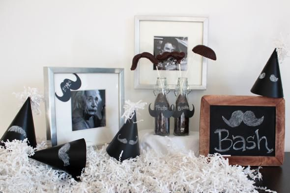 Classy Mo-Party Inspiration:  DIY Ideas for a Mustache Theme Party