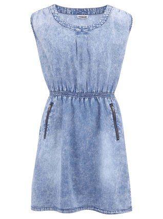 Noisy May - Modré džínové šaty  We - 1