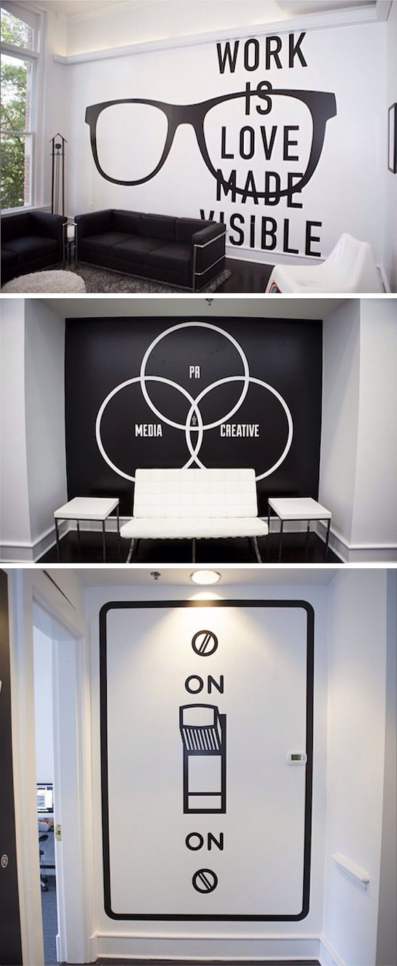 As part of our story on the offices of leading creative minds, we had our Twitter followers submit images of their own creative spaces. Pictured here are some of the fantastic murals at @Big Communications. To see your creative space featured, tag us @Fast Company and use #mycreativespace on Twitter or Instagram.: