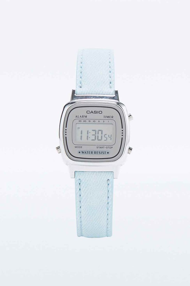 Casio Mini Digi Watch in Pale Denim