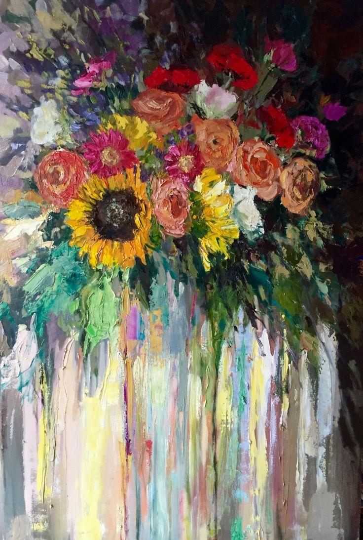 Art Pieces 1731 Best Floral Art Images On Pinterest