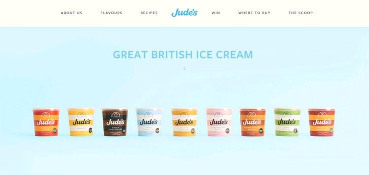 judes.co.uk website has a really Nice Web Design. Check it out now and find similar great web designs.