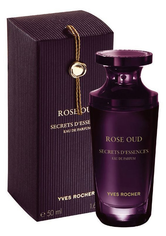 Secret d`Essences Rose Oud by Yves Rocher: Features rose, oud, cumin and labdanum.