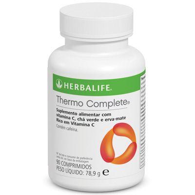 O Thermo Complete da Herbalife fornece cafeína para ajudar a aumentar a concentração e o estado de alerta.  Com vitamina C, que contribui para a redução da fadiga e do cansaço. Um dos meus preferidos <3