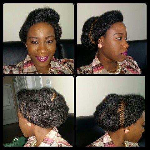 Crochet hair updo | Hairstyles | Pinterest | Crochet Hair, Hair Updo ...