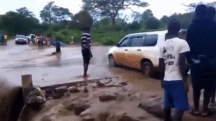 Driving through a flooded road WCGW?