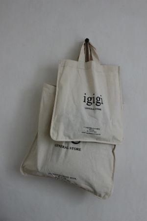 cotton shopper tote - i gigi