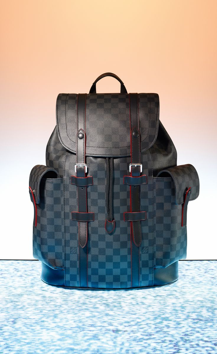 d191db0f7af4 For the man with the urban lifestyle, bring home the Louis Vuitton  Christopher backpack this