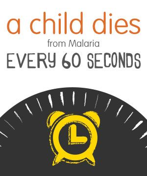 A child dies every 60 seconds from Malaria. You can do something about it. Click to read more or see how you can help!