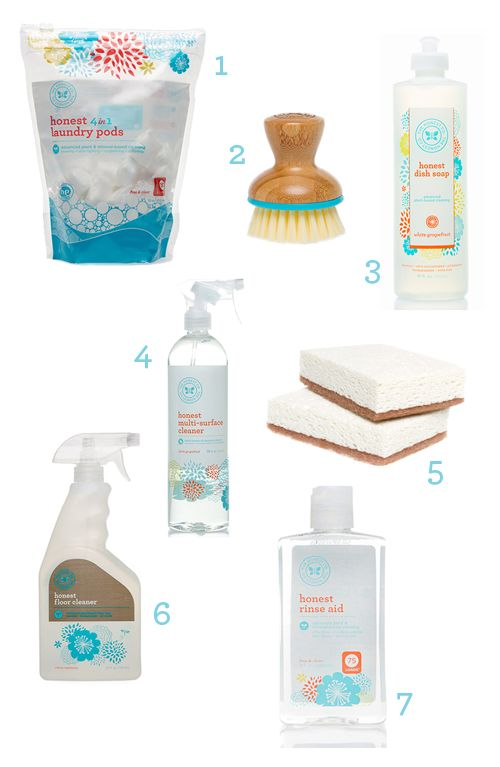 Design Mom's Favorite Cleaning Products from The Honest Co.