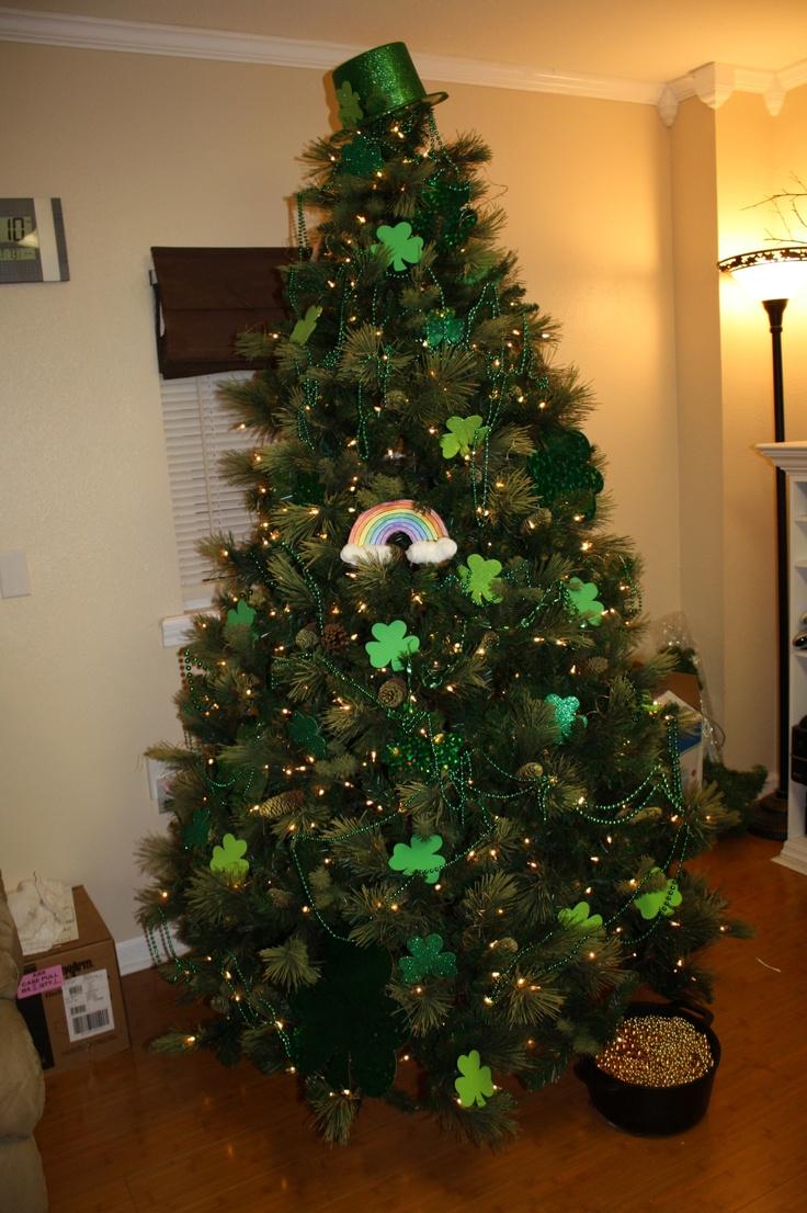 St. Patrick's Day Tree: Years Round, Crafty Chick, Food Ideas, St. Patrick'S Day, Round Holidays, Holidays Decor, Holidays Trees