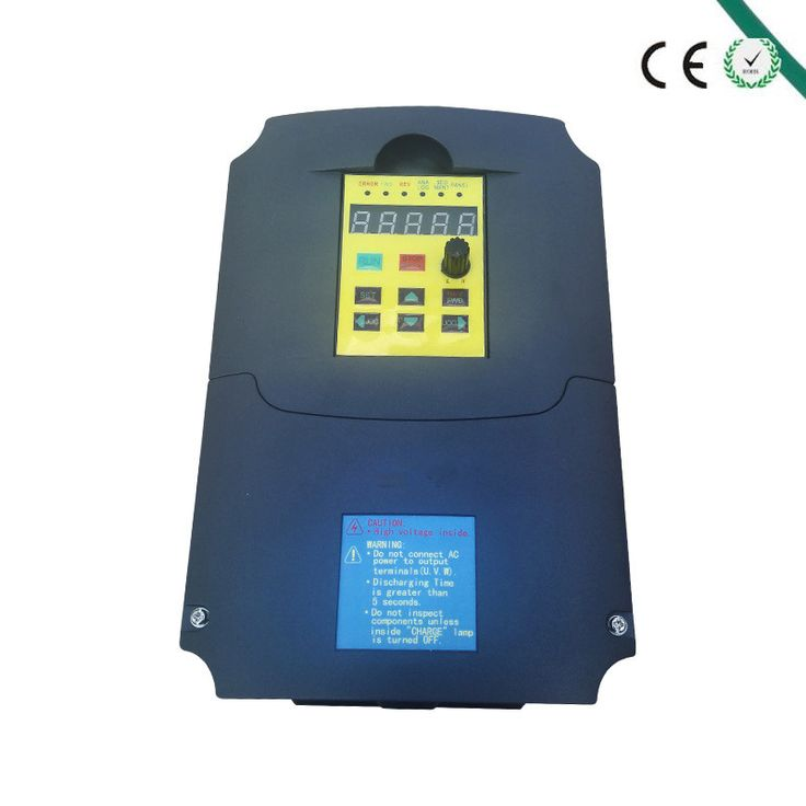 VFD Inverter Frequency converter 4KW 5HP 3 PHASE 380V 400Hz for Motor Water pump woodworking machine inverter #Affiliate